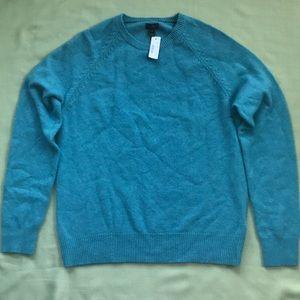 J Crew Lambs Wool Crewneck Sweater Size Medium